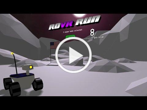 ROVR RUN - WebVR - The Ultimate Rover Driving Action Game