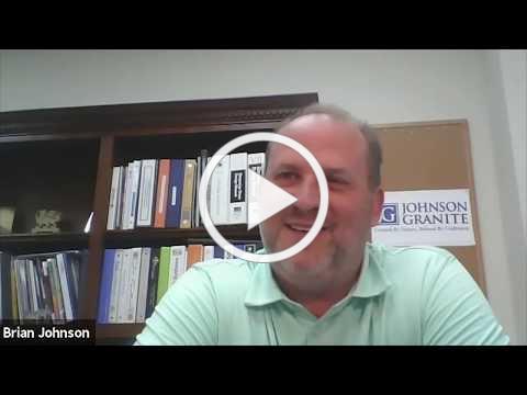 Virtual Mixer #14 - Brian Johnson, CEO/President of Johnson Granite Inc. (Part 1 of 2)
