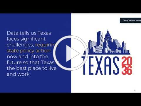 2020 North San Antonio Chamber | Texas 2036 Virtual Event