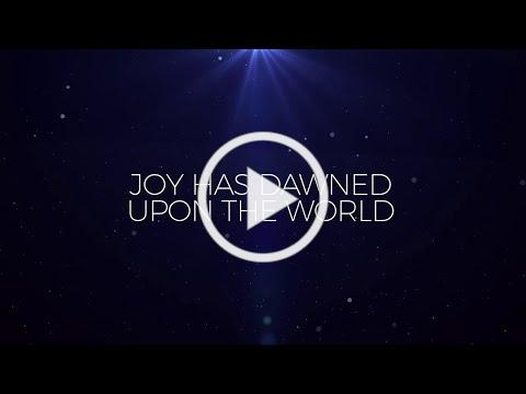 Joy Has Dawned (Official Lyric Video) - Keith & Kristyn Getty