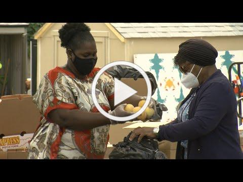 Collaborative Effort Brings Food To People In Need In North Park