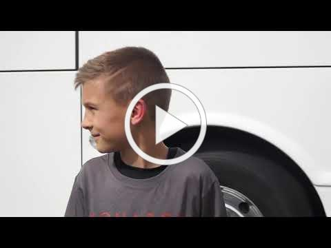 Boy Finds Remote Controlled Full Sized Bus