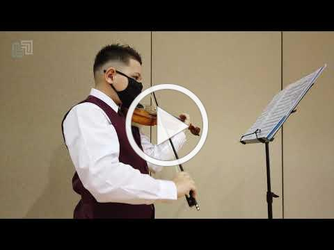 Violinist Matthew Murray