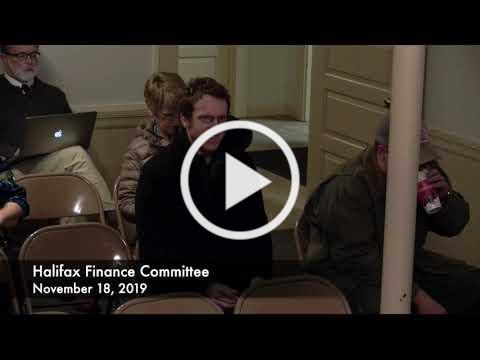 Halifax Finance Committee 2019/11/18