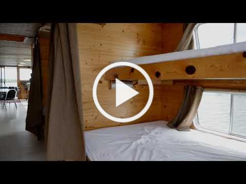 The Only Way to Cruise the Woods - Ontario Wilderness Houseboat Rental
