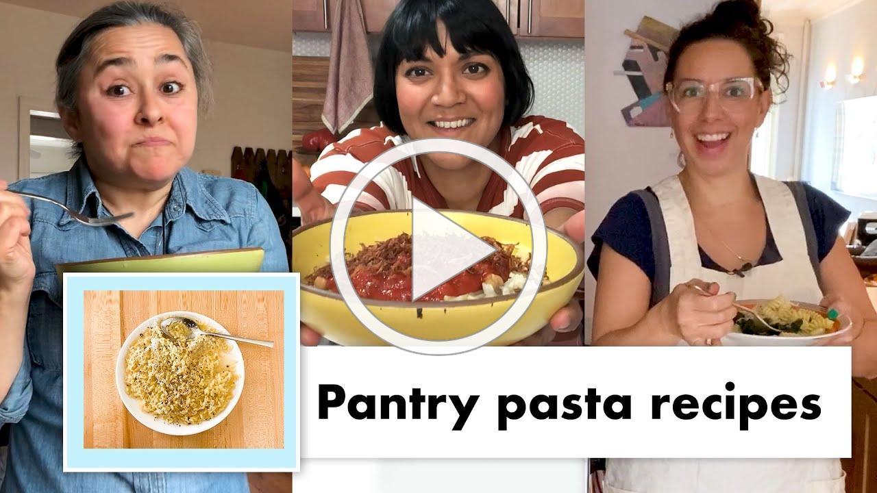 Pro Chefs Make 13 Kinds of Pantry Pasta   Test Kitchen Talks @ Home   Bon Appétit