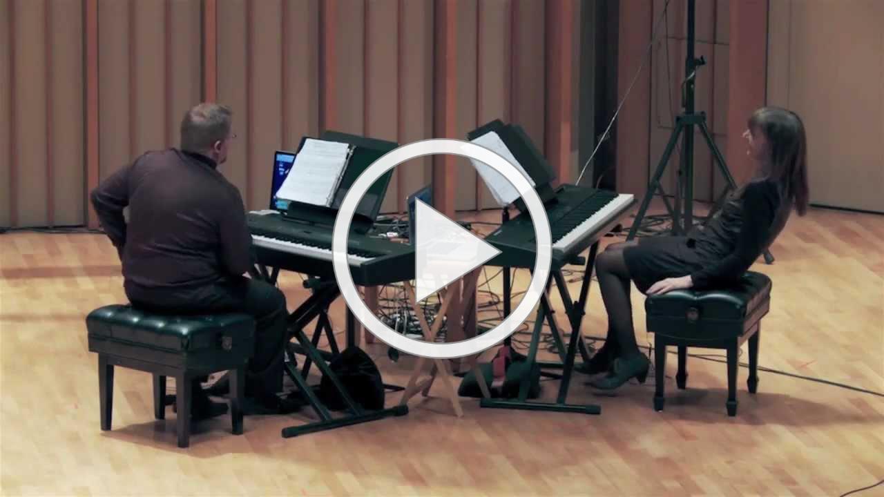 Rad by Enno Poppe / Ray-Kallay Duo - microtonal keyboards