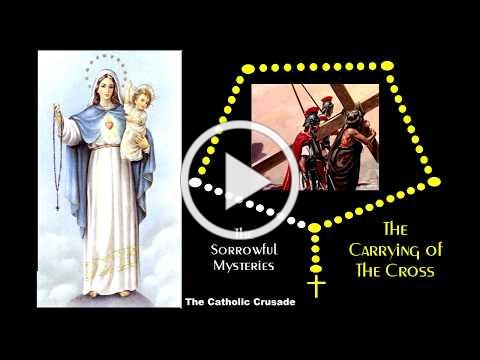 The Sorrowful Mysteries - VIRTUAL ROSARY - (Tuesdays & Fridays)