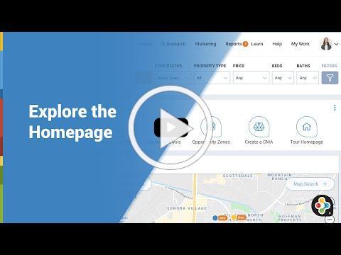 RPR Basics & Beyond: Explore the Homepage