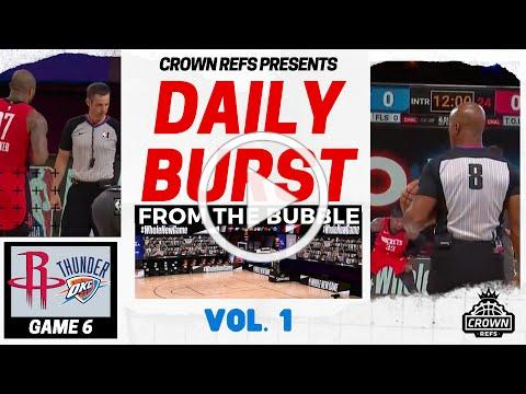 Daily Burst from the Bubble vol. 1 | The Crown Refs Podcast 104