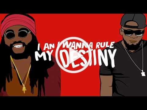 Destiny ft Kabaka Pyramid [LYRIC VIDEO]