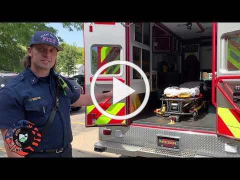 Miami Valley Fire District Medic 53 hydraulic cot demonstration