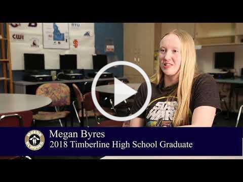 Meet Megan Byres Timberline High School 2018 Graduate