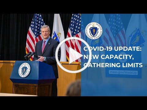 COVID-19 Update: New Capacity, Gathering Limits