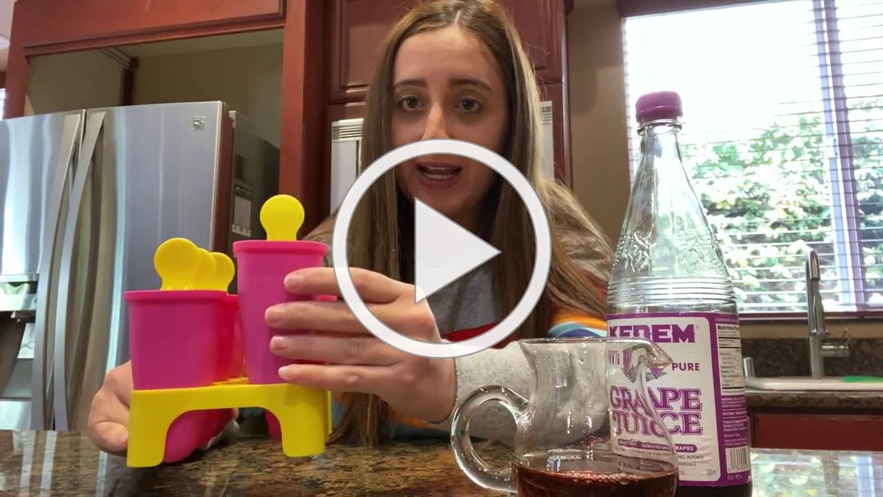 Parpar Grape Juice Popsicles