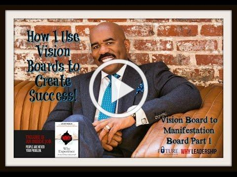 Vision Board to Manifestation Board Part 1