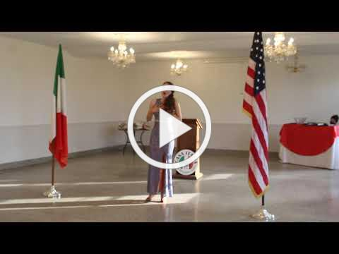 2020 Casa Italia Vocal Scholarship - Muccianti Scholarship Winner November 8, 2020, Video 2