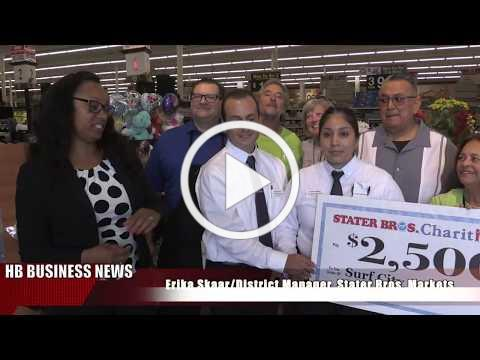 STATER BROS PRESENTS HB SENIORS ON THE GO WITH $2,500 HB BIZ NEWS
