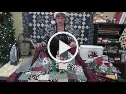 Quilt An Adorable Christmas Tree Skirt