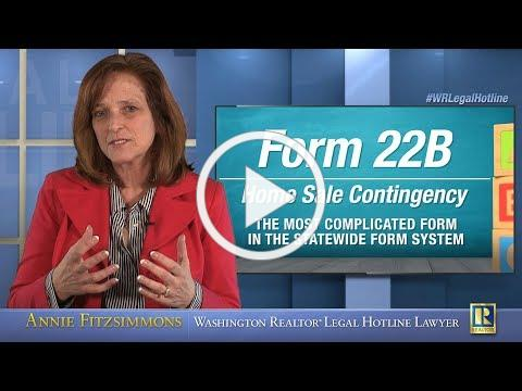 Form 22B: Home Sale Contingency - Part 1