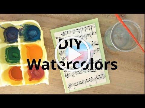 DIY Watercolors