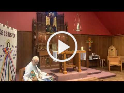 The livestream of the Holy Eucharist for the Eighth Sunday after Pentecost