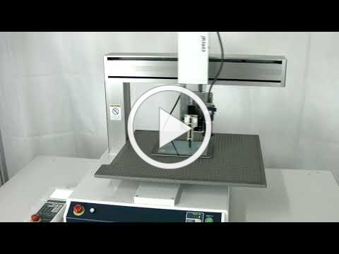 Janome Desktop Robot Touch Screen Testing with CMM Table