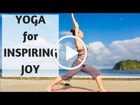 YOGA FOR INSPIRING JOY | YOGA WITH MEDITATION MUTHA