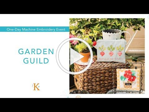 The Garden Guild | Kimberbell's Machine Embroidery Event