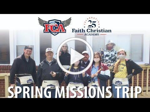 FCA Spring Missions Trip 2021