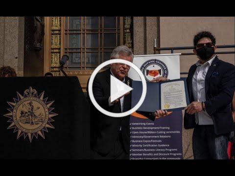 Nashville Mayor John Cooper joins NAHCC leaders to Kick-Off National Hispanic Heritage Month