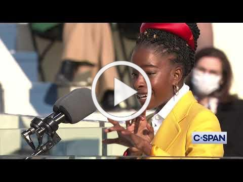 National Youth Poet Laureate Amanda Gorman at Presidential Inauguration