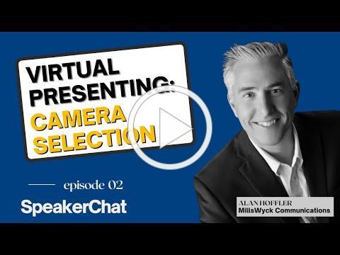 Virtual Presenting: Camera Selection