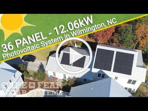 Residential Solar Power System - Wilmington, NC