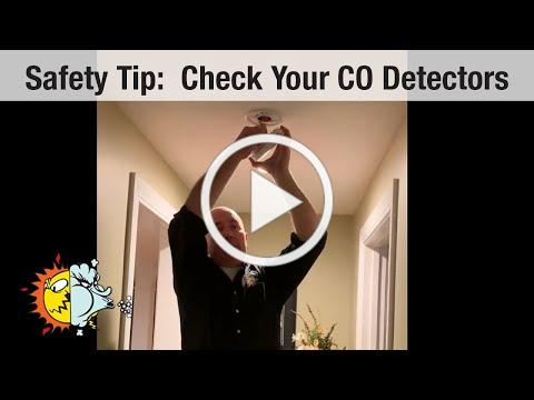Safety Tip: Check and Change Your Batteries in Your CO Detectors