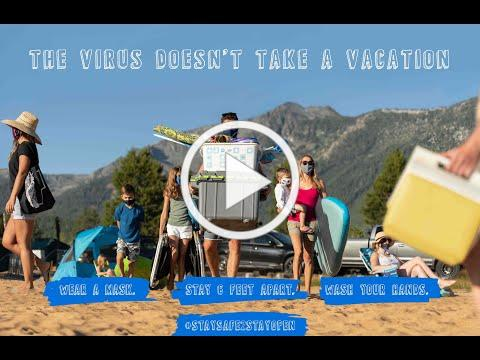 The Virus doesn't take a vacation at Tahoe South (Beach)