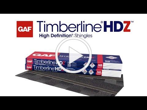 Timberline HDZ Shingles with LayerLock Technology | GAF Roofing