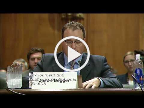 Senate Hears from Wyoming's Jason Begger on Deploying Clean Energy Technologies