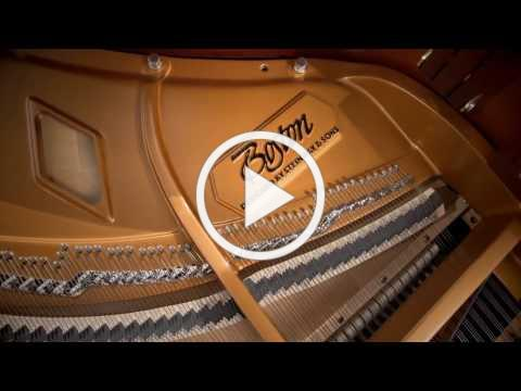 Features of a Boston Piano Designed by Steinway & Sons