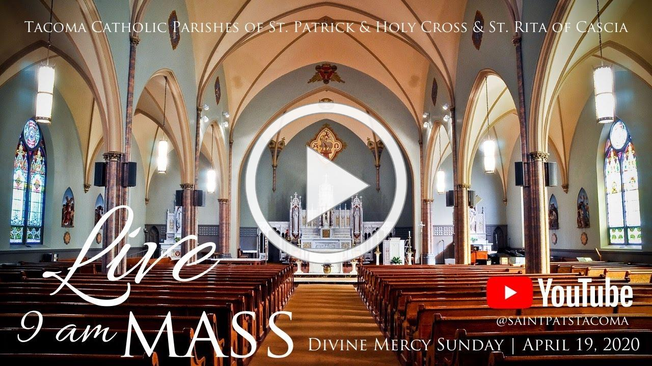 Mass | Sunday April 19, 2020 | Divine Mercy Sunday | Fr. David Mulholland
