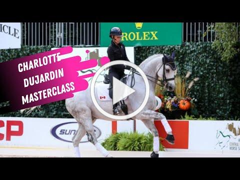 Charlotte Dujardin Masterclass: How to Ride Straight Flying Changes in Dressage