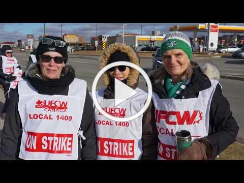 UFCW members strike Saskatoon Co-op for workplace fairness