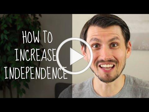 How to Increase Independence in Adults with a Developmental Disability.