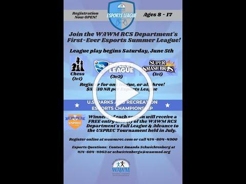 WAWM RCS Department Esports League
