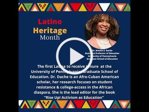 Latino Heritage Month Video