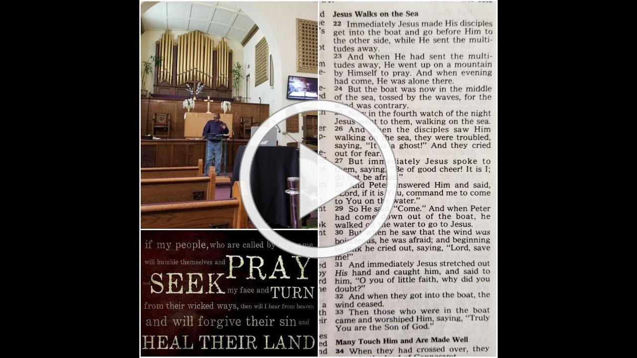 "Sermon: ""A Daring Faith Beyond This Moment"" (Matthew 14:22-33)"