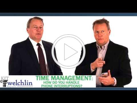 Time Management: How Do You Handle Phone Interruptions?