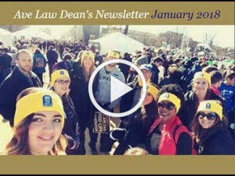 Dean's Newsletter January 2018 v1