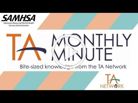 Monthly Minute: Co-Occurring Disorders Mental Health & Substance Abuse