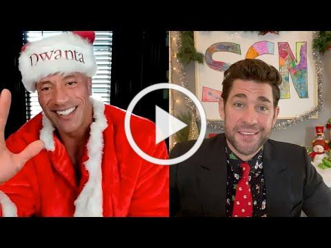 Holiday Special with Dwayne Johnson: Some Good News with John Krasinski